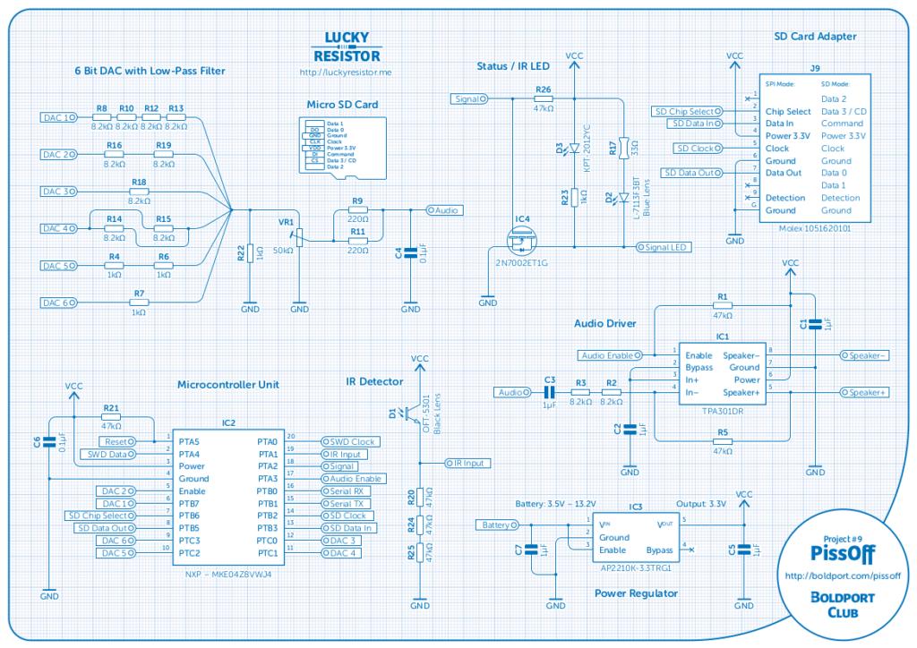 Pissoff schematic
